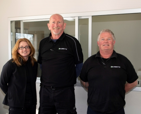 Ashburton Team: from Left Ngaire Coote, Scott Ammerman and Simon Goodeve